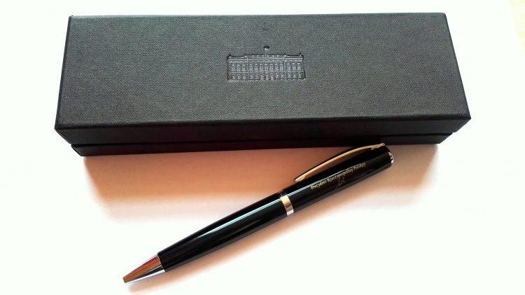 Długopis od prezydenta RP